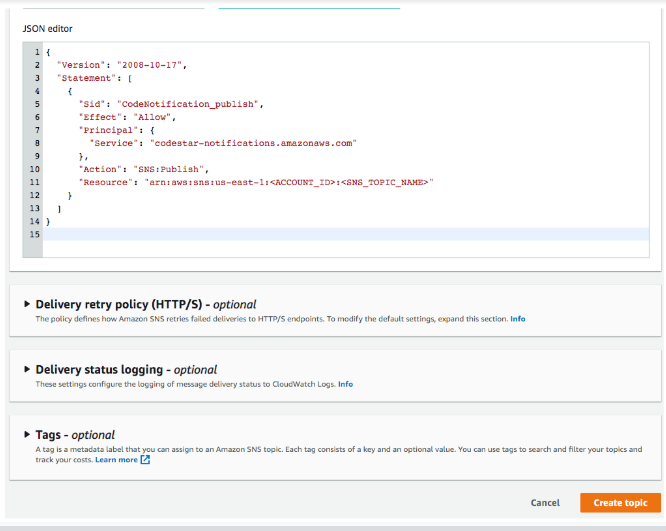 AWS CodeCommit Repository